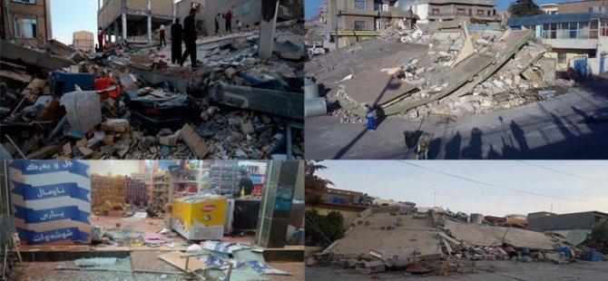 Li Rojhilata Kurdistanê herî kêm 207 kes di erdhêjê de mirine
