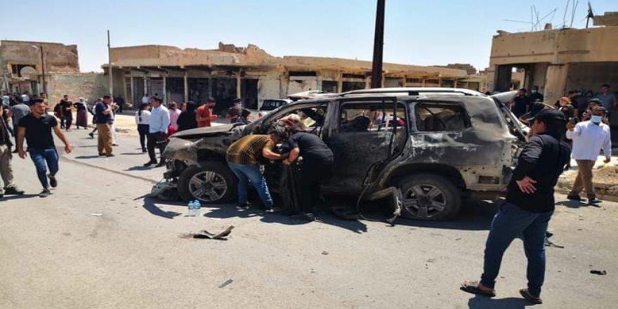 Balafirên Tirk li navenda Şingalê otomobîlek bombebaran kir: Kesên tê de bûn can dan
