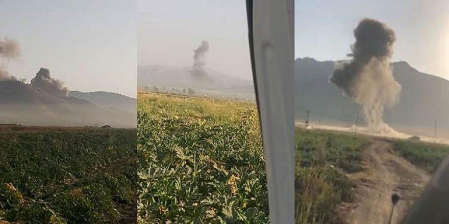 8 gundên Pêncewênê hatin bombebarankirin
