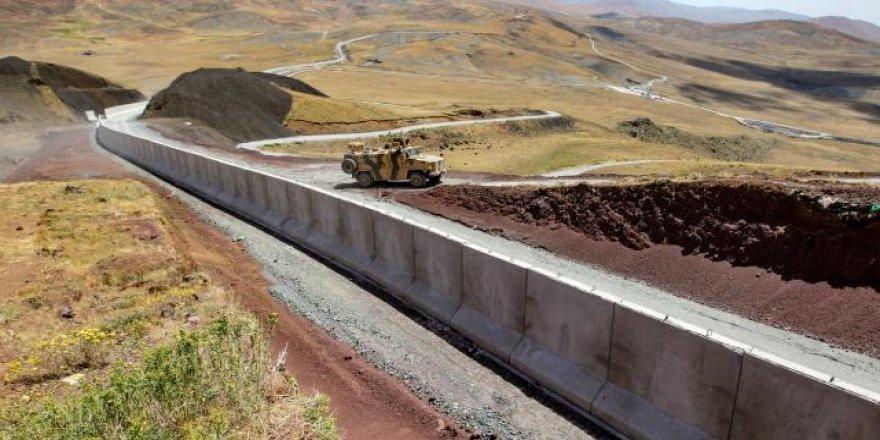 Tirkiyê çêkirina 43 km dîwarê ser sînorên Bakur-Rojhilat temam kir