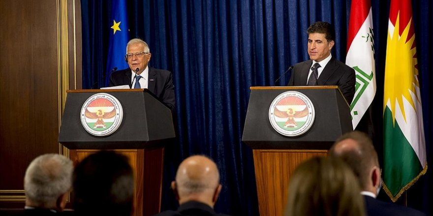Josep Borrell: Herêma Kurdistanê faktoreke girîng a aramiya navçeyê ye