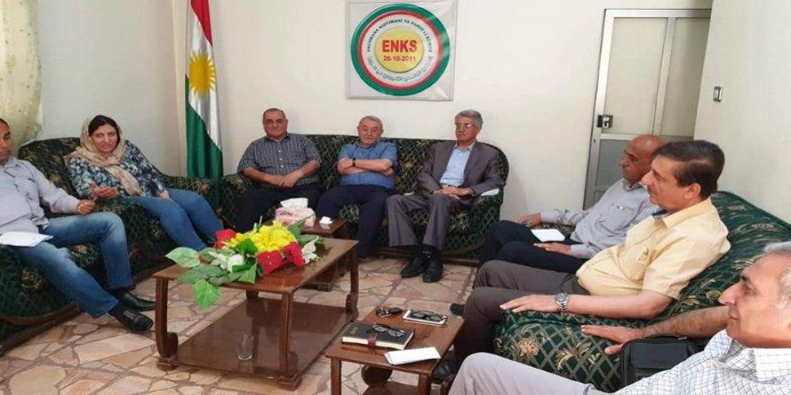 Joey Hood derbarê diyaloga Kurdî de bi ENKSê re hevdîtin kir