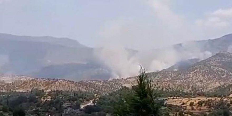 Îran navçeyên sînorî yên Herêma Kurdistanê topbaran dike