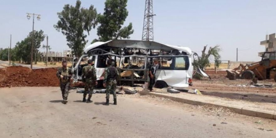 Dera- 7 leşkerên Sûriyê di teqînekê de hatin kuştin