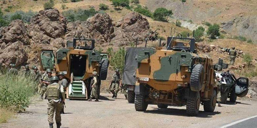 Li Amedê operasyona artêşa Tirkiyê berdewam e