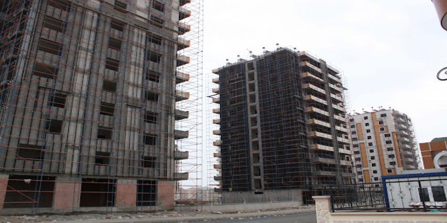 Li Tirkiye û Bakurê Kurdistanê firotina xaniyan %17 kêm bûye
