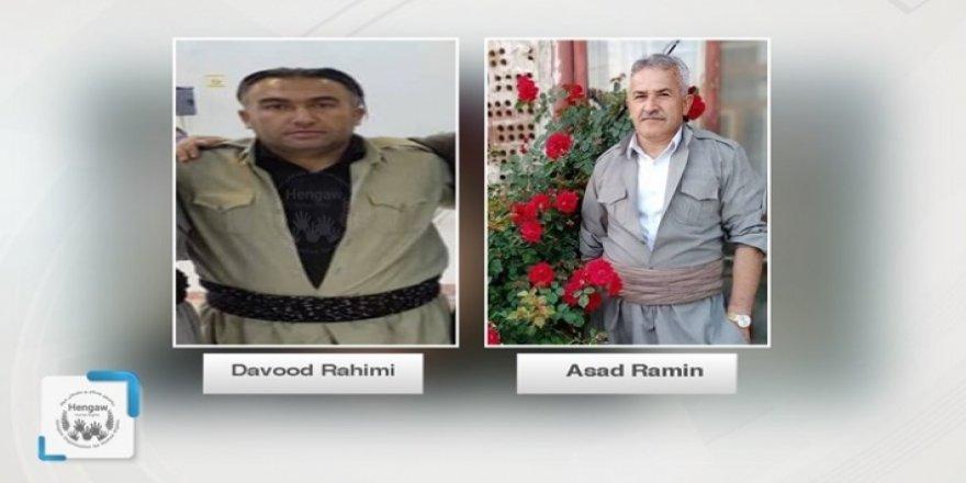 Rojhilat-Du welatiyên kurd di bin îşkenca pasdarên Îranê de hatin kuştin