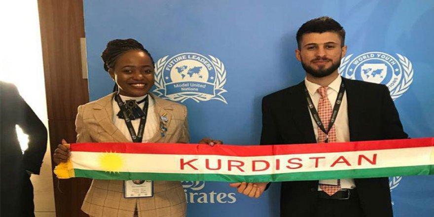 Xwendekarekî Kurd ji Neteweyên Yekbûyî xelat wergirt
