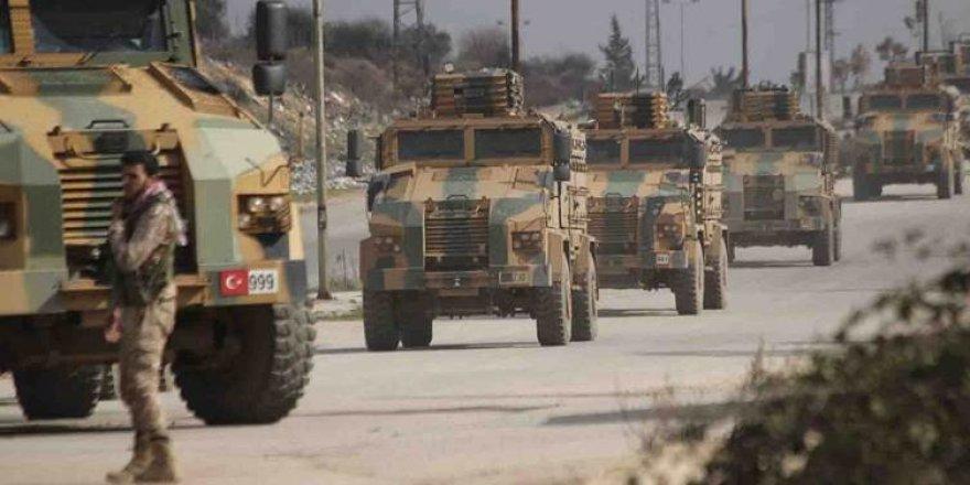 IDLIB - Tirkiyê xaleke serbazî li Çiyayê Zawiye ava kir