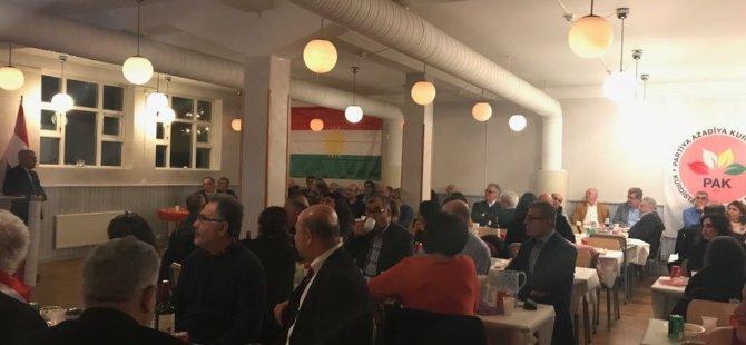 PAK bi kurdên Swêdê, kurdên Swêde jî bi PAKê xurt in! (Bi wêne)