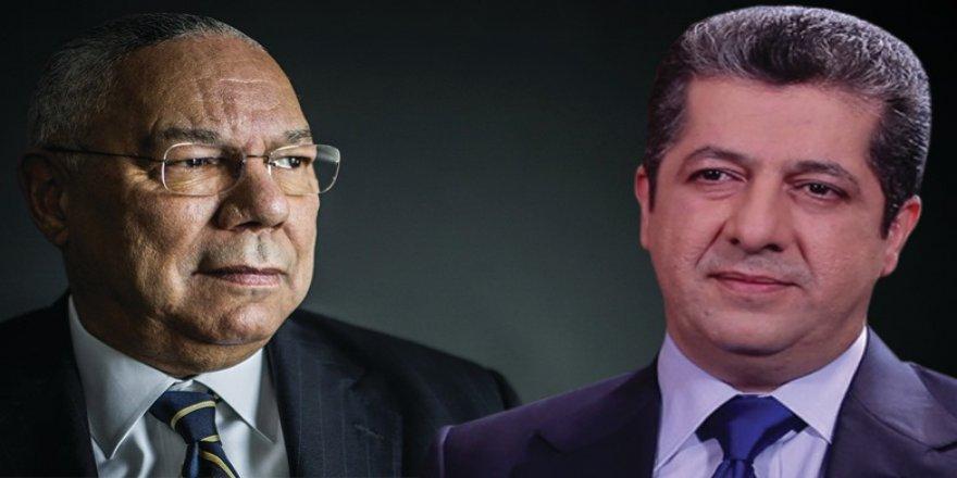 Serokwezîr Mesrûr Barzanî xemgîniya xwe ji ber koça dawî ya Colin Powell anî ziman
