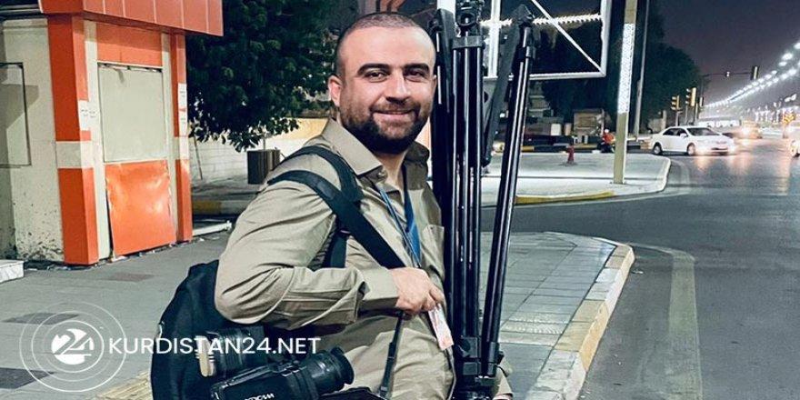 Alîgirên Heşda Şeibî êrîşî şandeyê Kurdistan24ê bo Bexdayê kir