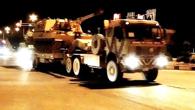 Ji Tirkiyeyê veguhastina leşkerî bo Efrînê!