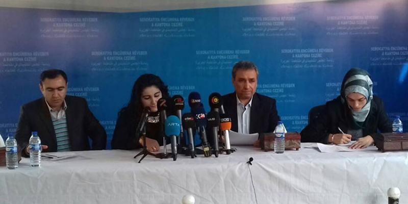 Encama hilbijartina Rojava hate eşkerekirin