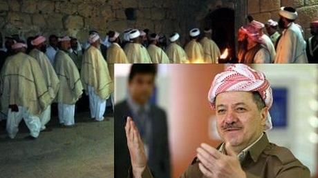 Serok Barzanî Cejna Rojiyê li  Êzdîyan pîroz kir