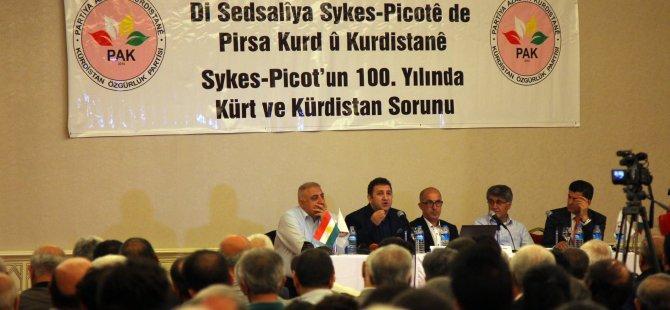 """""""Ji Sykes-Picotê re na, ji  ji azadî û dewletbûna Kurdistanê re erê"""""""