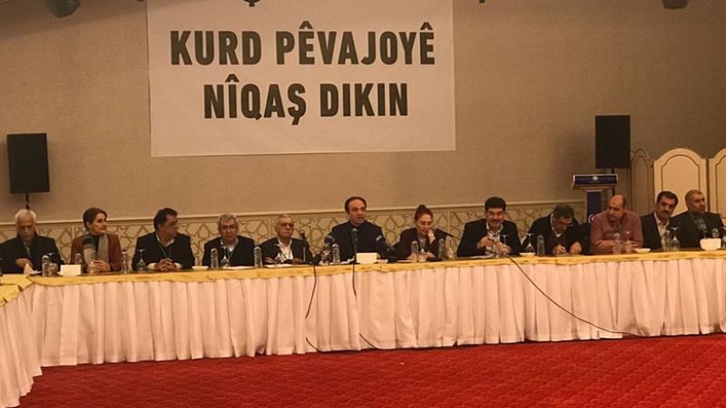 Li Amedê civîna 'Kurd pêvajoyê nîqaş dikin'