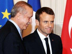 Hevdîtina Erdogan û Macron bazirganî bû