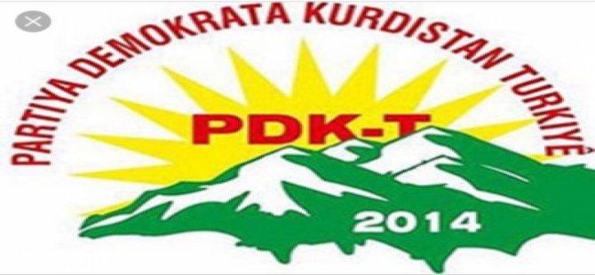 PDK-T : Dagirkirina Efrinê Ne Çareserî ye