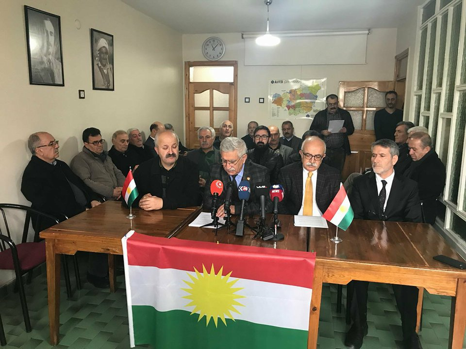 Hereketa Azadî, PAK, PDK-Bakur, PSK Êrîşa li ser Efrînê protesto kirin
