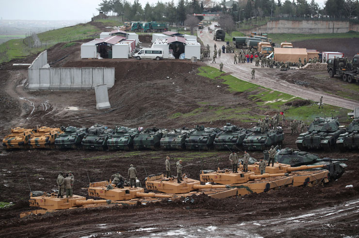 Riwangeha Sûrî: Heya niha artêşa Tirkiyê ti gund kontrol nekiriye