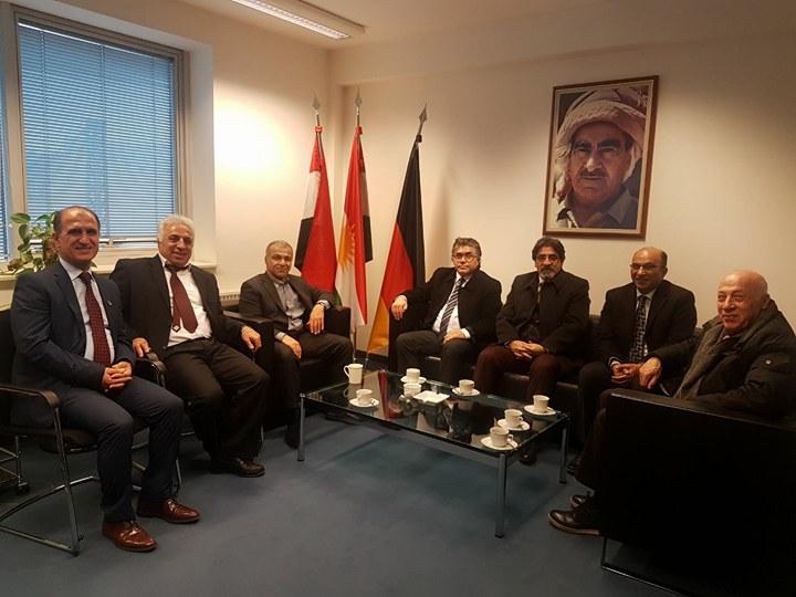Serokê PAKê Mustafa Özçelik li Berlînê Seredana Dilşad Barzanî yê Nûnerê Hikûmeta Herêma Kurdistanê yê Almanyayê kir.