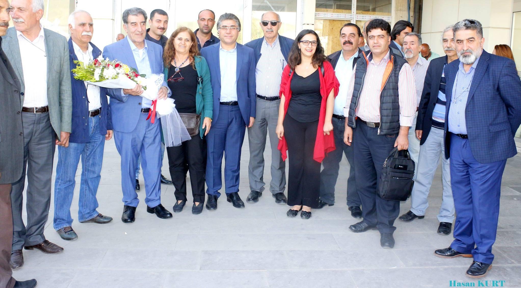 Sîyasetmedarê Kurd Îkram  Delen piştî 36 salan vegerîya welatê  xwe