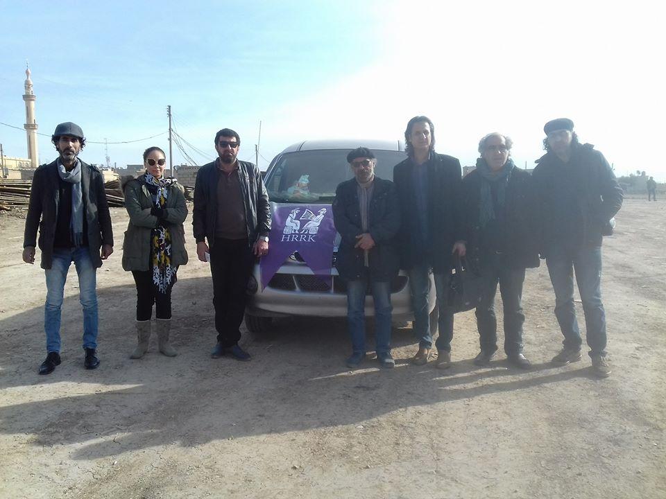 HRRK ber bi Efrînê ve bi rê ket