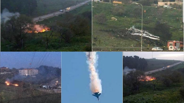 Balafireke îsraîlê ket, İsraîl Şamê bombebaran dike!