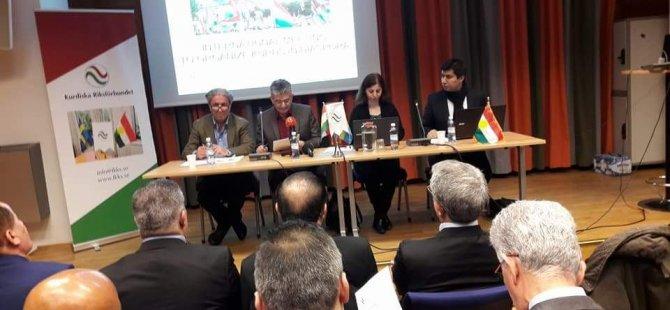 Civîna Rawenda Kurdên Diyaspora pêk hat
