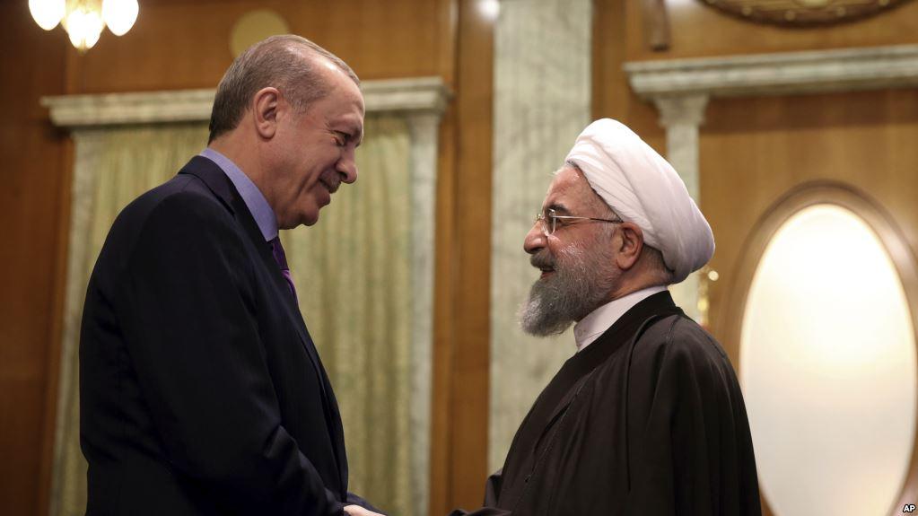 Erdogan û Ruhanî bi Telefonê li ser Efrînê Axivîn