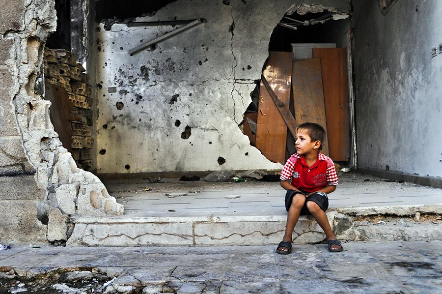 VÎDYO/ Zarokên Efrînê daketin qadan