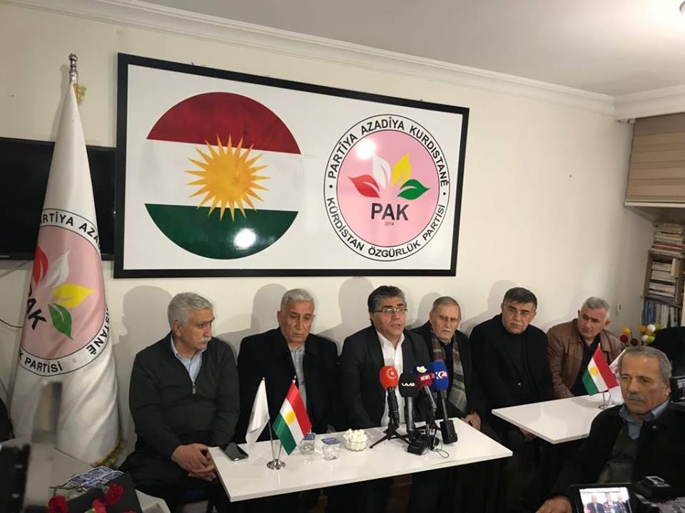 Li Teşkîlata Amedê ya PAKê bîranîna Mele Mustafa Barzaniyê Nemir û şîna rehmetî Ali Beyköylü