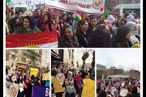PAK: Jinên kurd, tu caran serî netewandin