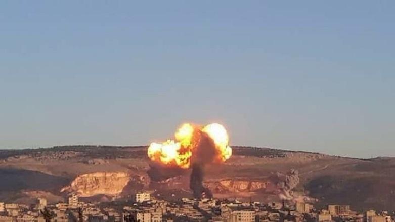 Di 51emîn roja êrîşa bi ser Efrînê de metirsiya qirkirinê..beşek ji taxa Eşrefiyê hate valakirin