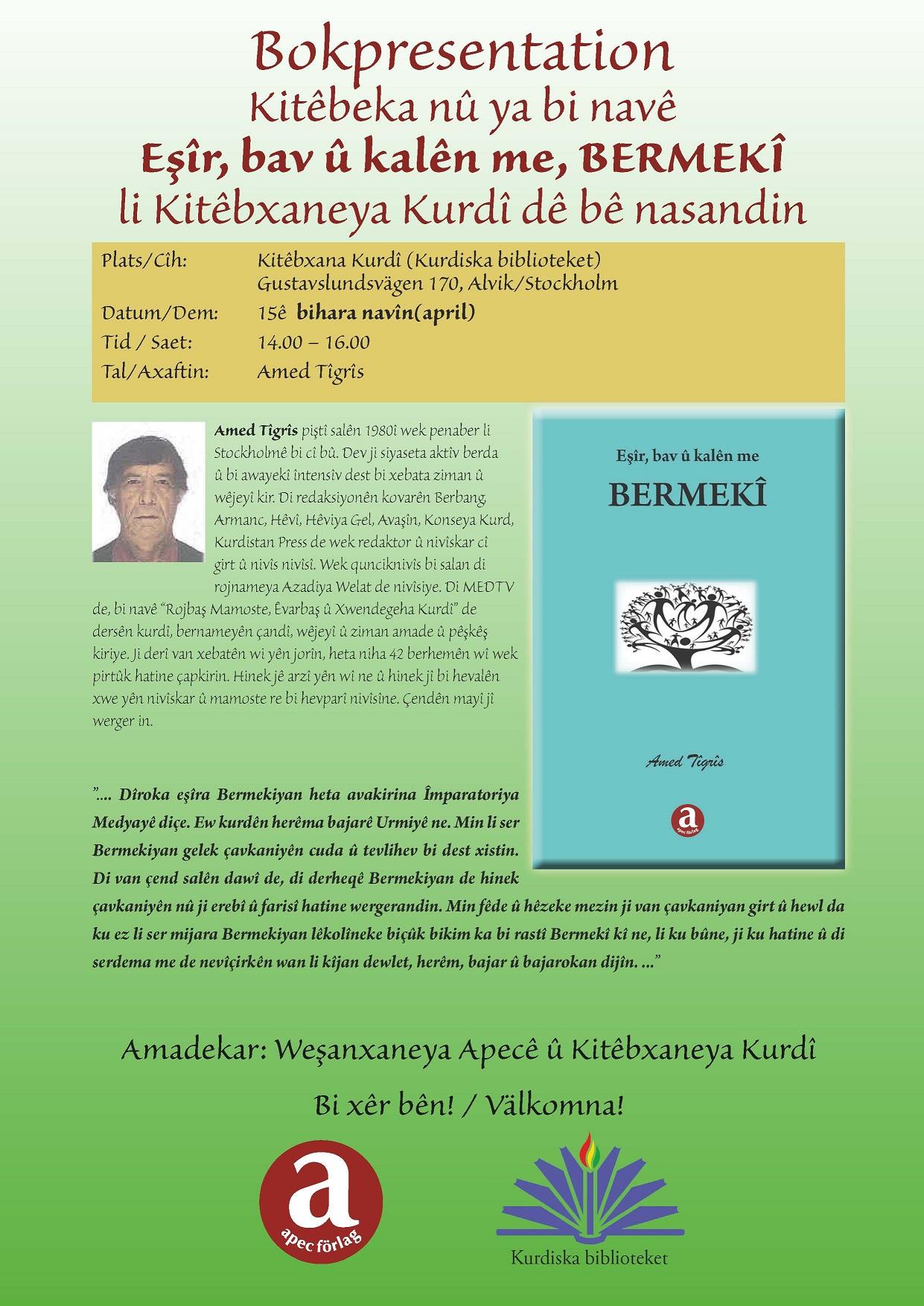 Nasandina Pirtûka Amed Tîgrîs: