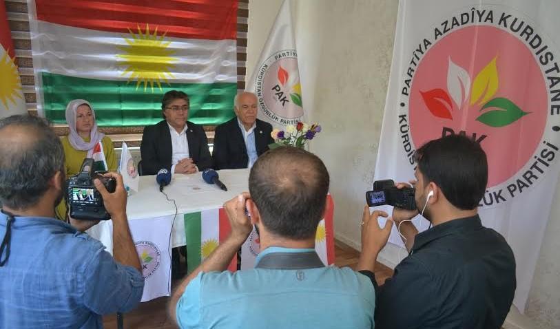 """""""PKK têra xwe êzing avêt vî agirê ku dewleta Tirk li welatê me pêxistîye"""""""