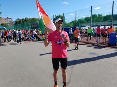 Mehmed Tanriverdî îsal jî beşdarî maratona Stockholmê bû