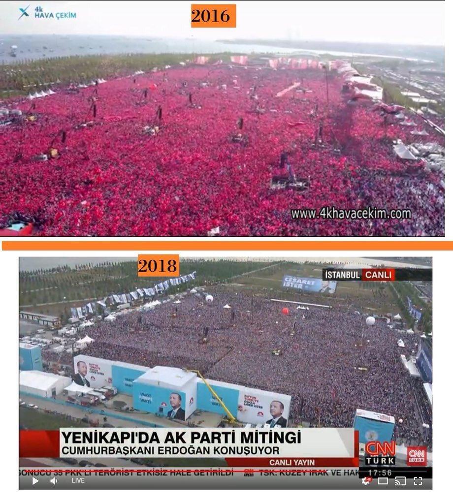 Times: Piştgiriya bo Erdogan her diçe kêm dibe