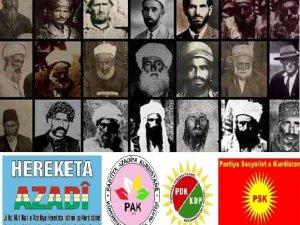 Hereketa Azadi, PAK, PDK, PSK bo bîranîna Şex Seid daxuyaniyeke hevpar belav kir