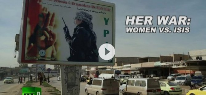 "Belgefîlima ""Her War: Women vs. ISIS"" xelat wergirt"