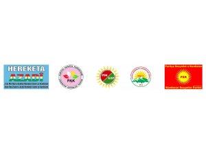 Partiyên Kurdistanî li Amedê ji bo şehîdên Rojhilata Kurdistanê şînê datînin