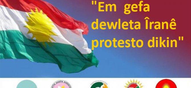 Em Gefa Dewleta Îranê Protesto Dikin