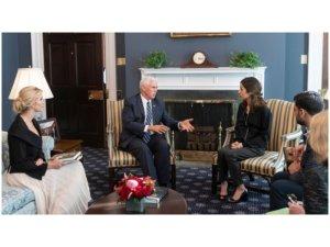 Mike Pence: Nadia Murad sembola hemû qurbaniyên DAIŞê ye