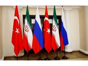 Tirkiye, Îran û Rûsyayê destûra Sûriyê gotûbêj kir