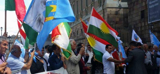 Kurdên Swêdê rejîma îslamî ya Îranê recimand!