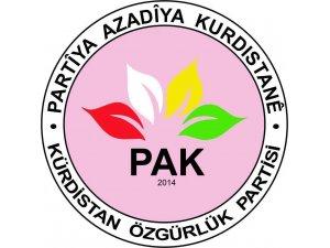 PAK: 'Di pirsa Kurd de ji bo çareseriyeke siyasî bila Emerîka siyaseteke bi bandor bimeşîne'