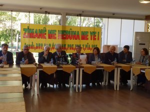 Platforma Zimanê Kurdî yekem komxebata xwe pêk tîne