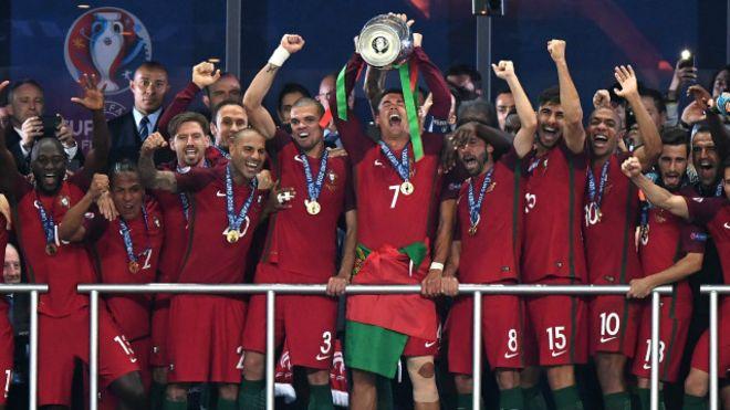 """Ronaldo: """"Ev şampîyonî dîyarîyek e ji hemû penaberan re """""""