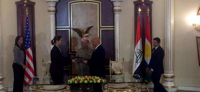 Di navbera Amerîka û Kurdistanê de protokola fermî!
